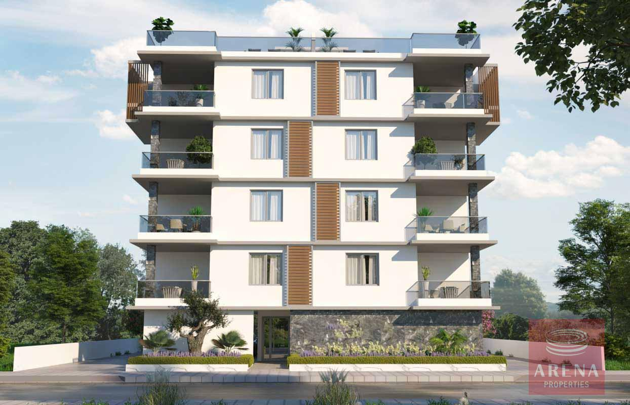 New 2 bed apartment in Kamares to buy