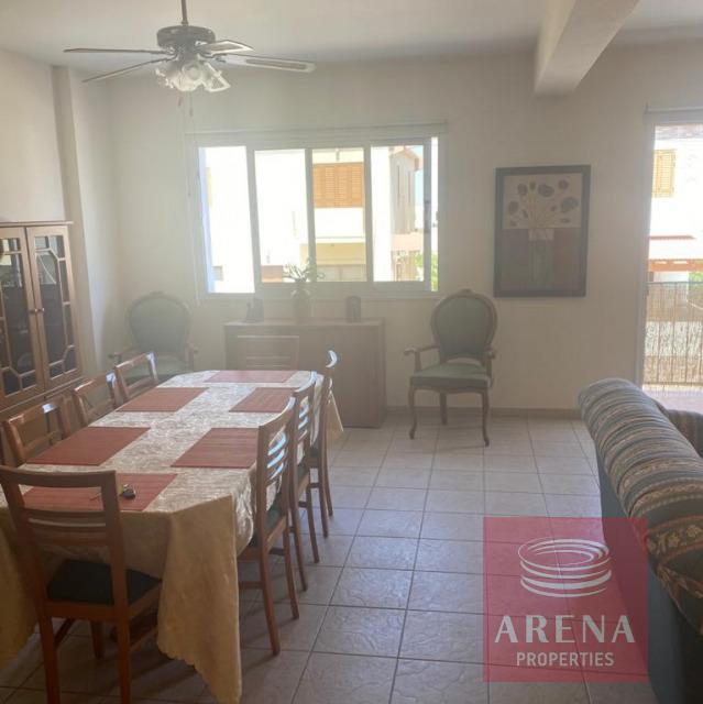 Apartment for rent in Derynia - dining area