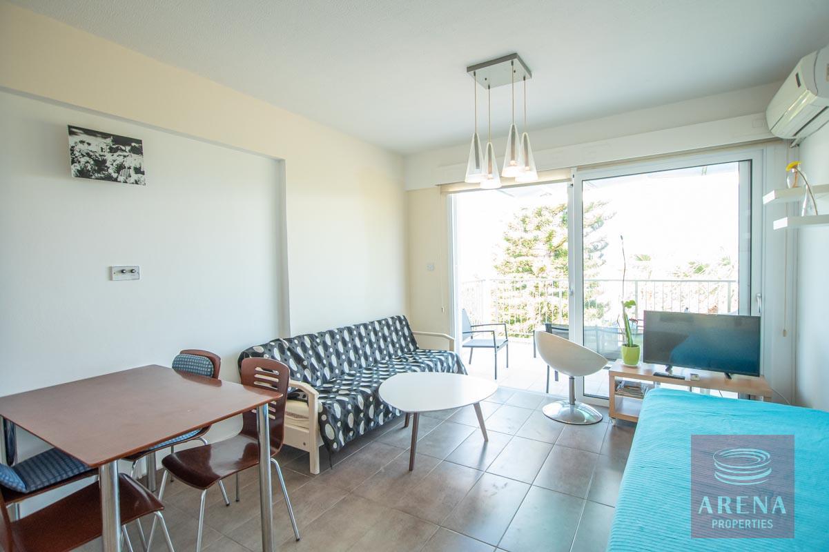 1 Bed 1st Floor Apt in Protaras - living area