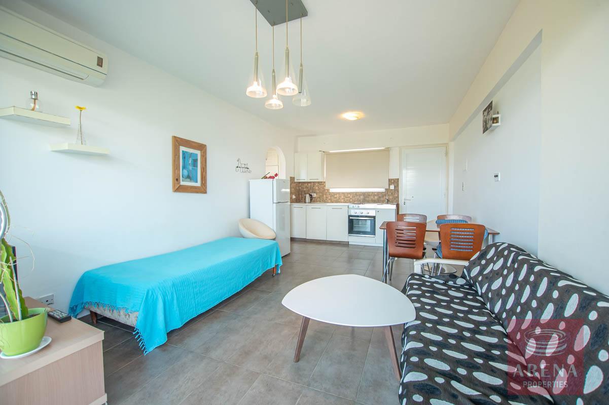 1 Bed 1st Floor Apt in Protaras - sitting area