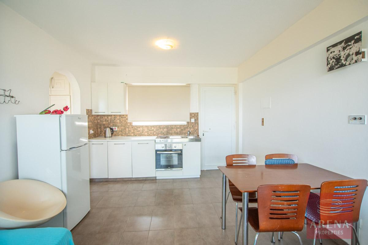 1 Bed 1st Floor Apt in Protaras for sale - kitchen