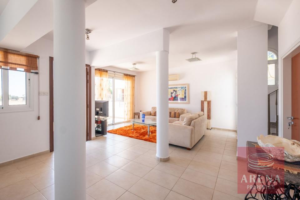 villa in paralimni - living area