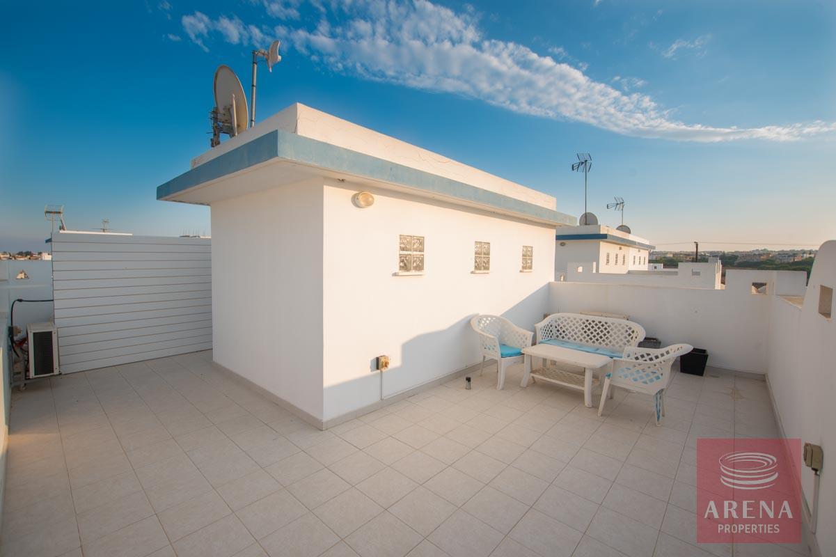 3 bed villa for sale in Kapparis - roof garden