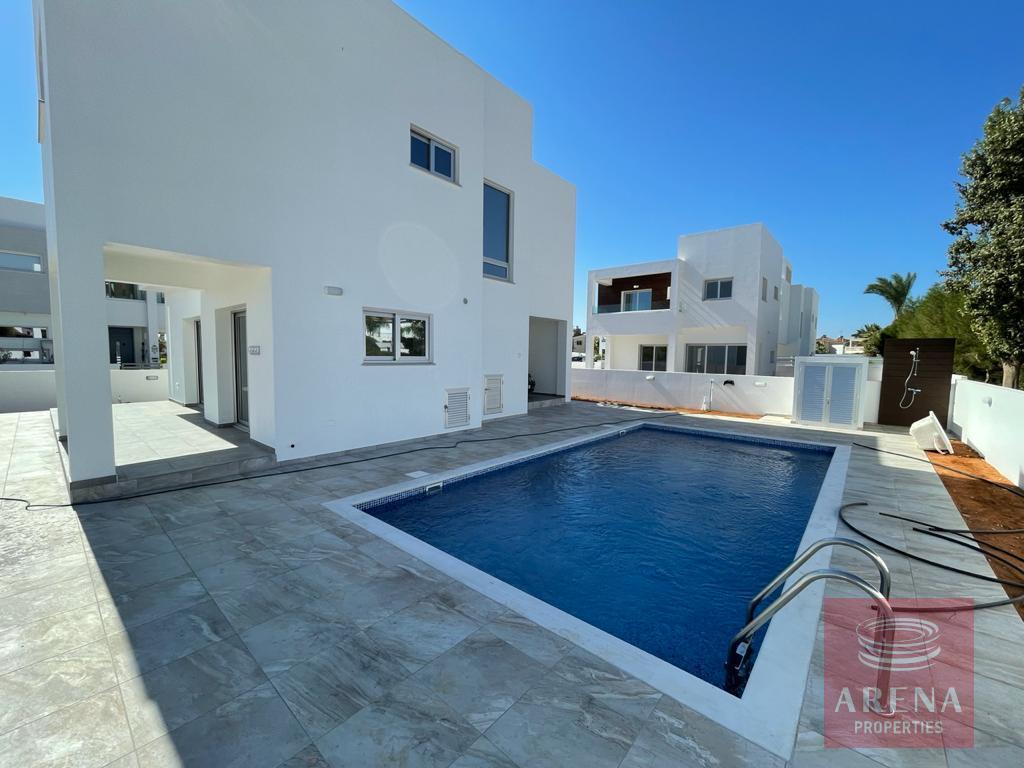 Ayia Thekla villa to rent - pool