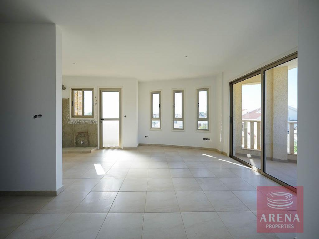 Incomplete apartment in Aradippou -living area