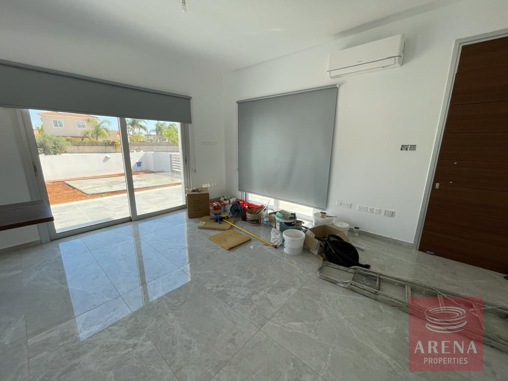 Ayia Thekla villa to rent - living area