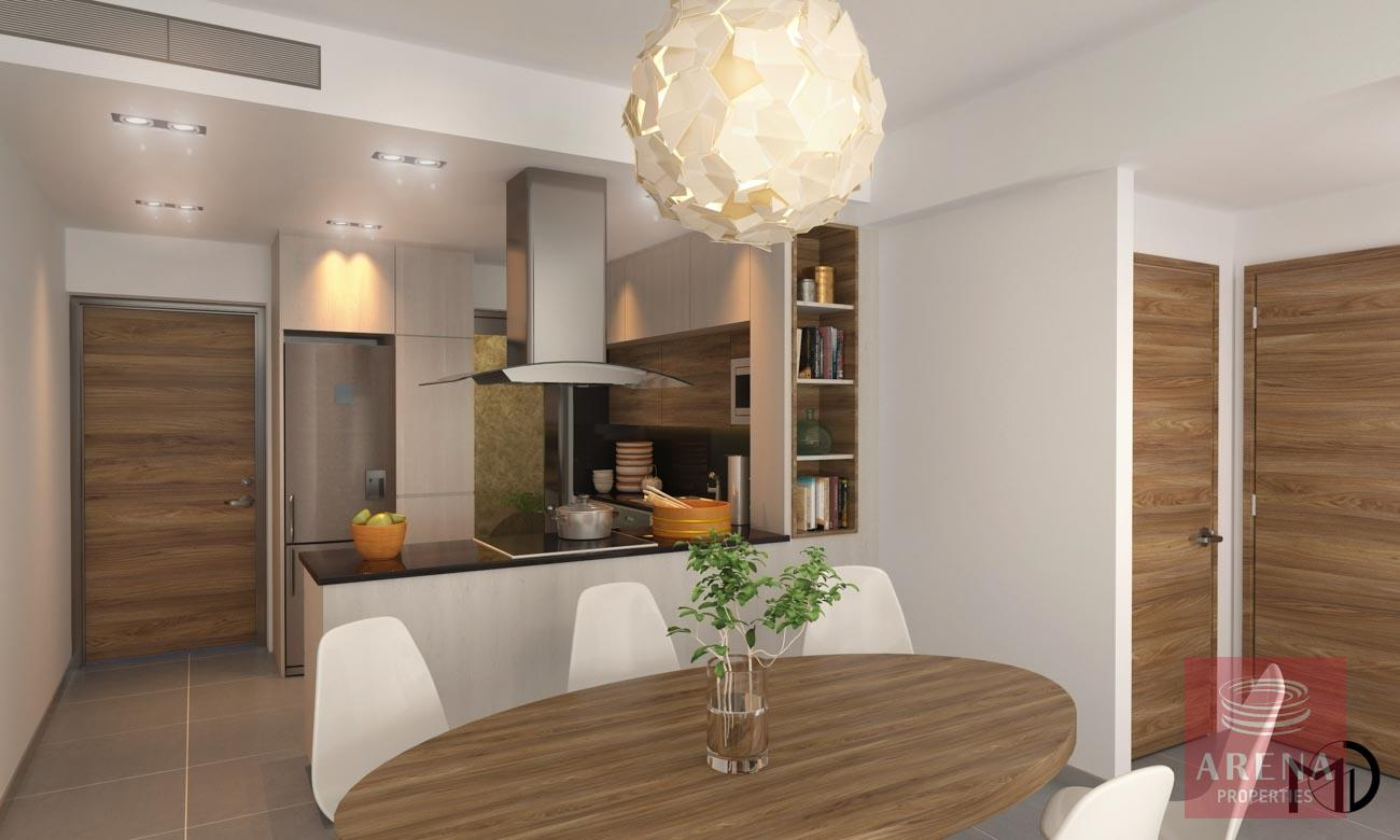 Apt in Kamares - dining area