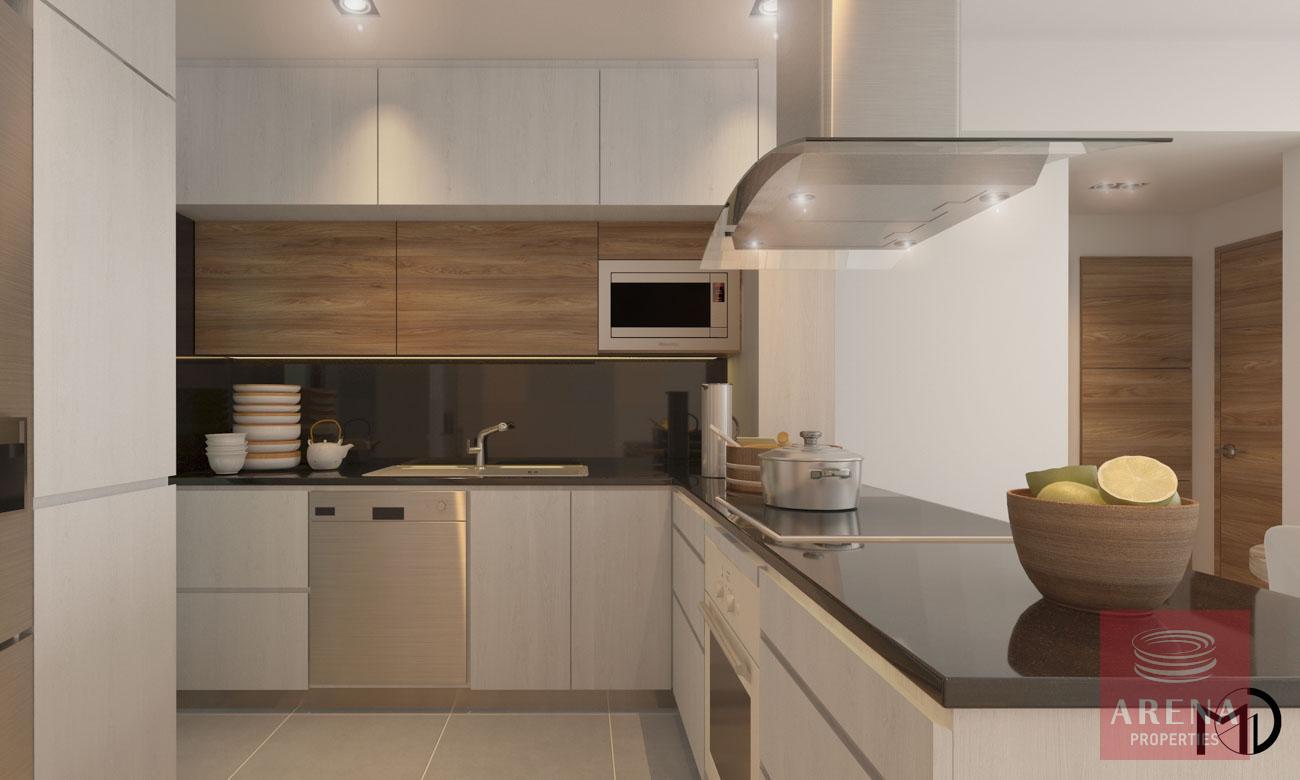 Apt in Kamares - kitchen
